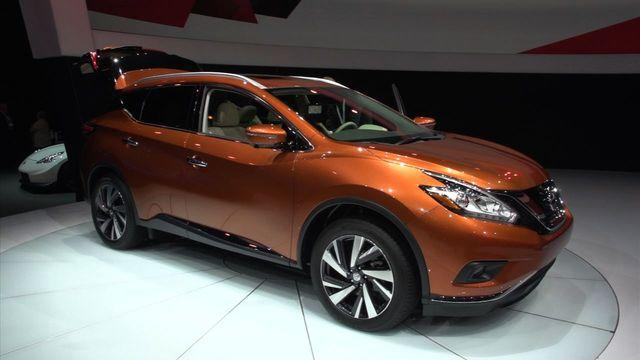 Lighter is better for the 2015 Nissan Murano