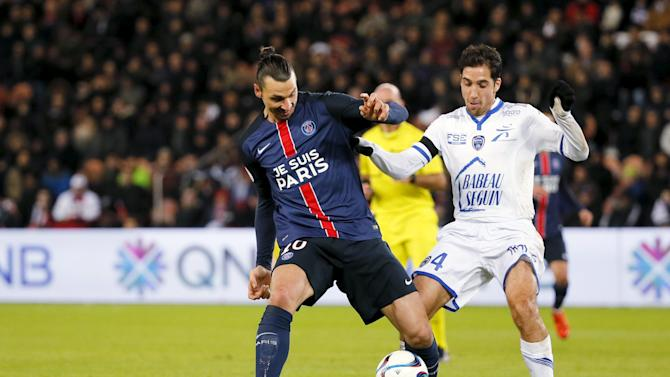 Paris St Germain vs Troyes - French Ligue 1