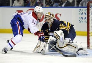 Habs clinch playoff berth with 5-1 win over Sabres