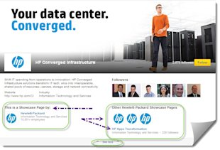 LinkedIn Announces New Showcase Pages: Great For Law Firms image Screenshot of HP Showcase Page 11 19 2013 9 35 42 AM