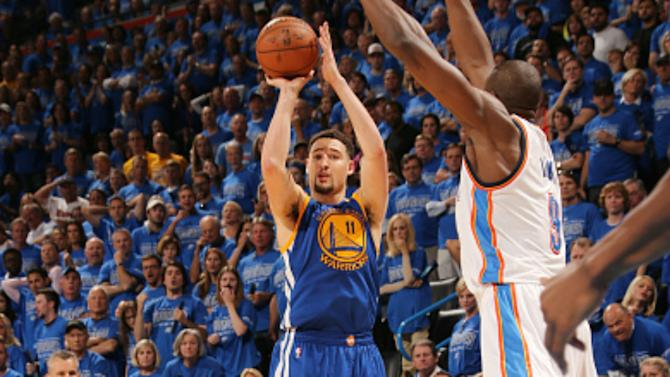 Moment of Greatness: Warriors' Klay Thompson sets playoff record with 11 3-pointers