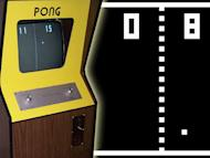 PONG (1972) -- Though often mistaken as being the first commercial video game ever -- that honor goes to 1971's Computer Space -- Pong is undoubtedly the pioneer. Created by Atari co-founders Nolan Bushnell and Ted Dabney, its simple, table-tennis gameplay was a smashing success.