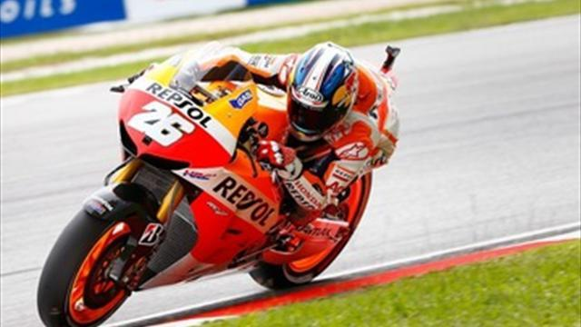 Motorcycling - Pedrosa ends win drought at Sepang