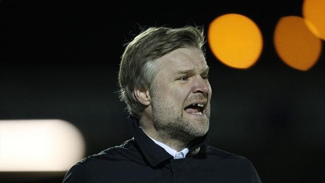 Football - Pressley chuffed with win