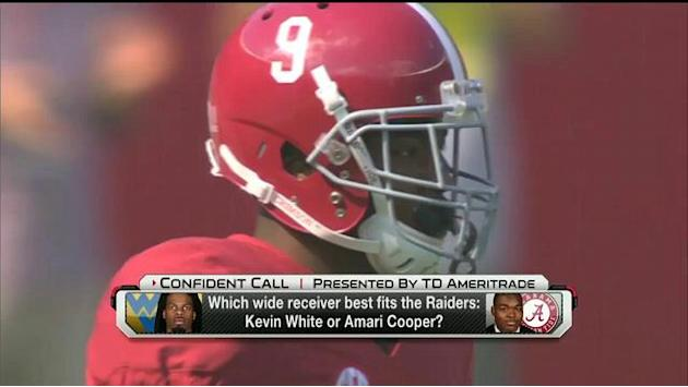 Better fit for the Oakland Raiders: Kevin White or Amari Cooper?