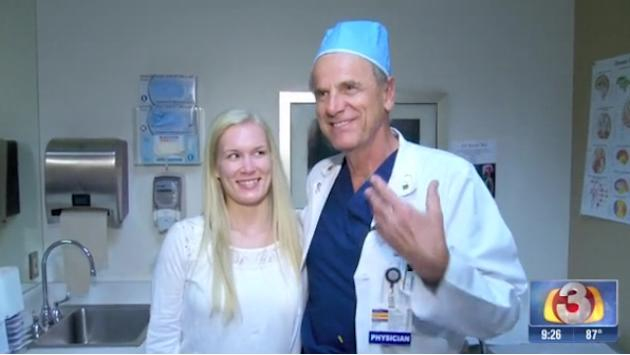 Woman travels from Norway to Phoenix for rare, risky spine surgery