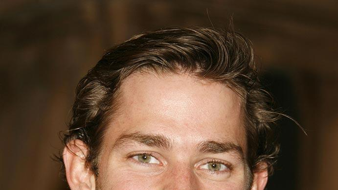 "John Krasinski arrives at the Los Angeles premiere of ""Cloverfield"". -  January 16, 2008"