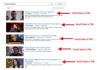 Optimizing YouTube Metadata: Titles, Descriptions & Tags image title1