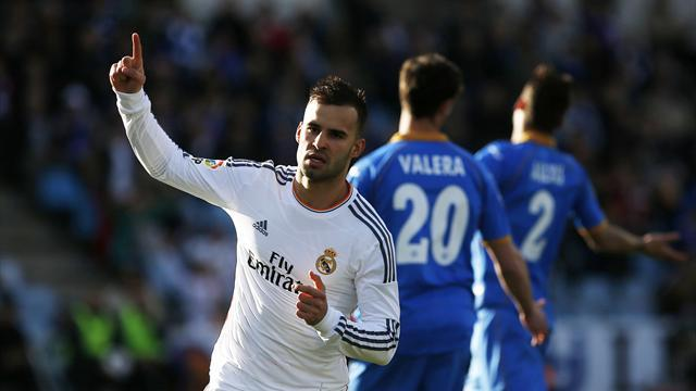 Liga - Real Madrid keep pace at top with win over Getafe