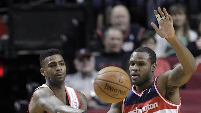 Trail Blazers down Wizards 116-103