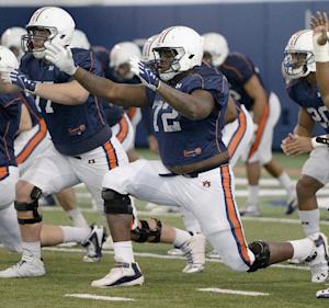 Auburn's Coleman battling for job, not survival