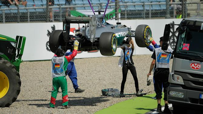 Formula 1 - Hamilton brake failure being investigated