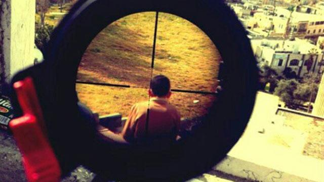 Sniper Posts Pic of Child in Crosshairs