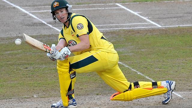Cricket - Hughes makes history with debut ton