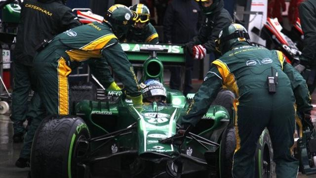 Formula 1 - Caterham duo calm about F1 futures