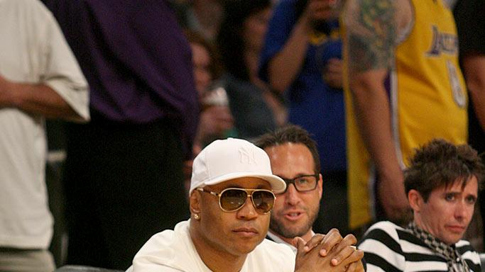LL CoolJ Lakers Game