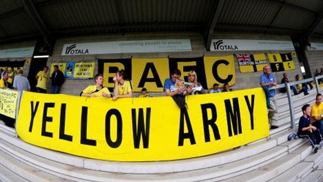League Two - Burton in triple swoop