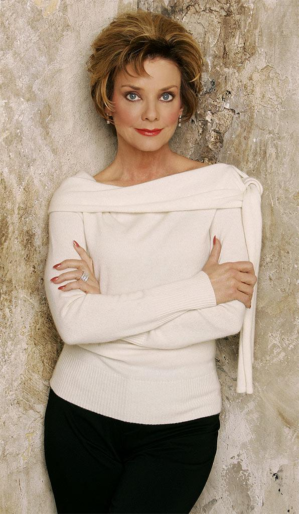 Judith Chapman stars as Gloria Fisher Abbott in The Young and the Restless on CBS.
