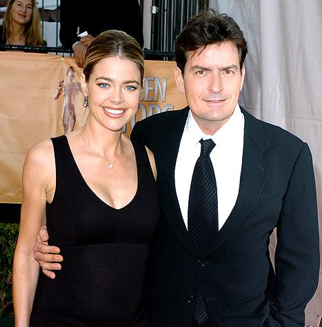 "Denise Richards: Charlie Sheen Is ""Greatest Ex Ever"" for Lending His Jet"