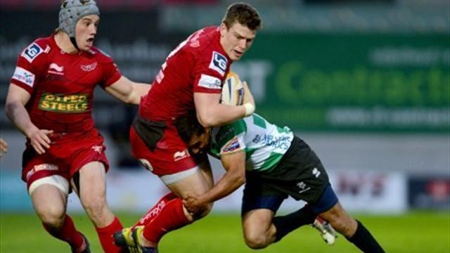 RaboDirect Pro12 - Scarlets in play-offs despite humbling loss to Treviso