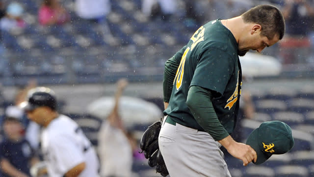 A's Pitcher Mourns Death of Child