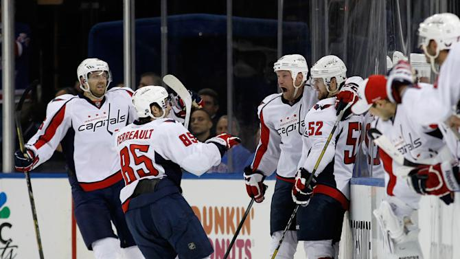 Washington Capitals v New York Rangers - Game Three
