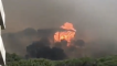 Large Blaze on Cape Town's Table Mountain Burns Down Restaurant