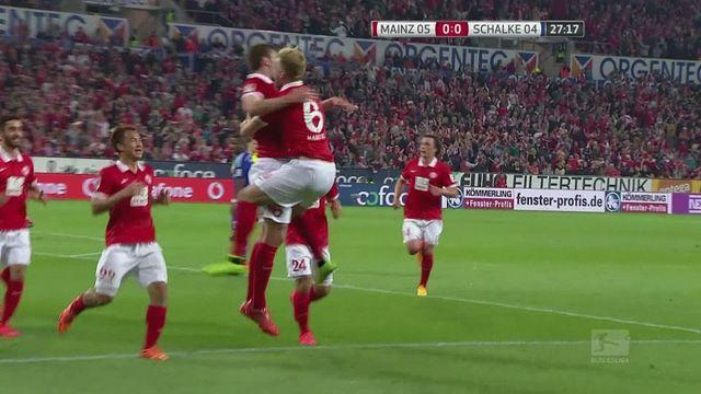 Mainz beat Schalke in Bundesliga