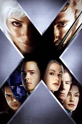 A movie poster for 20th Century Fox's X2: X-Men United