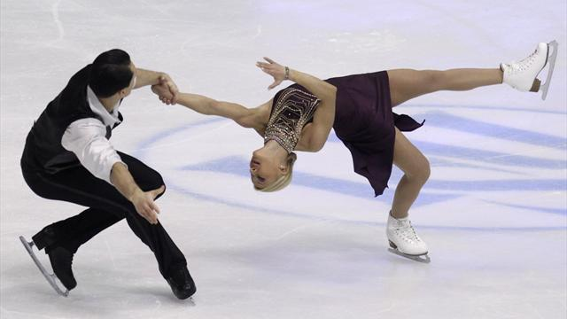 Figure Skating - Volosozhar and Trankov make strong start in Zagreb