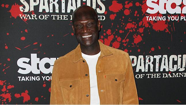 """Premiere Of Starz's """"Spartacus: War Of The Damned"""" - Arrivals: Peter Mensah"""