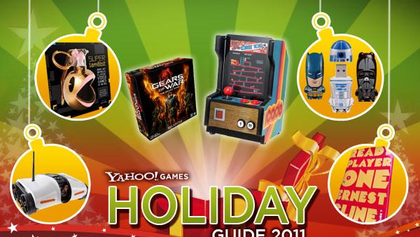 Yahoo! Games Holiday Guide 2011: Awesome Extras for Gamers