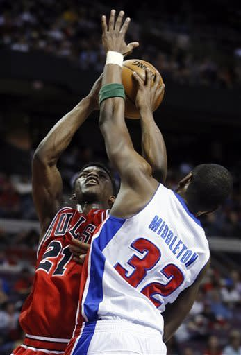 Pistons end 18-game losing streak to Bulls