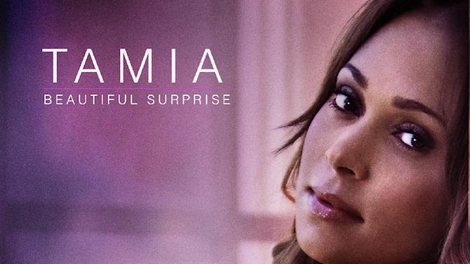 "This CD cover image released by Plus 1 Music Group shows the latest release by Tamia, ""Beautiful Surprise."" (AP Photo/Plus 1 Music Group)"