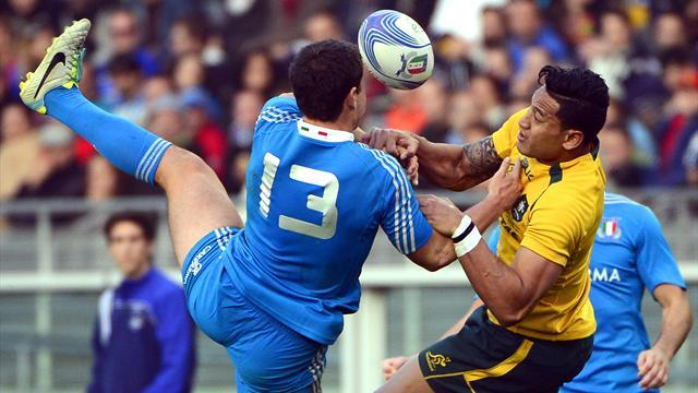 Rugby - Italy's Morisi has spleen removed following Fiji match