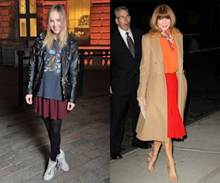 Alexa Chung, Gemma Arterton & Pixie Geldof Play Fantasy Fashion Week Front Row!