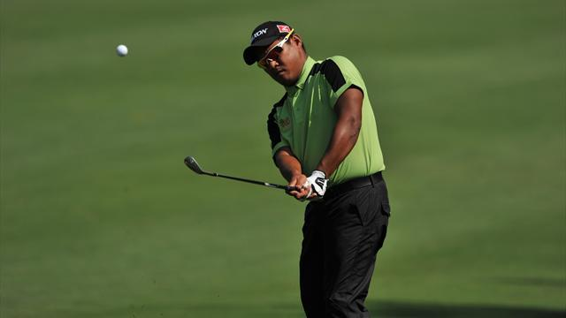 Golf - Chapchai, Liang share halfway lead in India