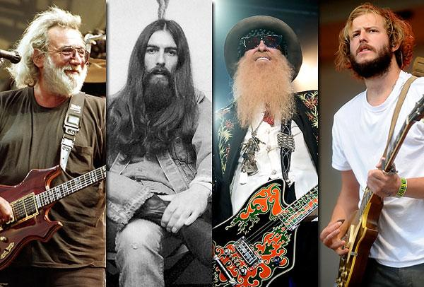 Weekend Rock Question: Which Rocker Has the Best Beard?