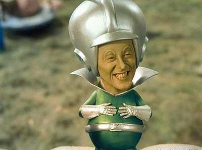 Alan Cumming as The Great Gazoo in Universal's The Flintstones In Viva Rock Vegas