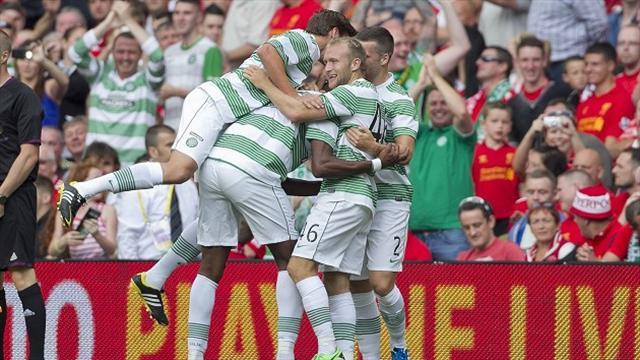 Scottish Premiership - Commons and Forrest net in Celtic win