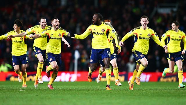 League Cup - Sunderland beat United to make final after shoot-out drama