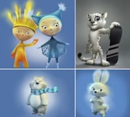 Selling the Olympics: Will The Sochi Mascots Be A Success? image sochi olympic mascots 300x270