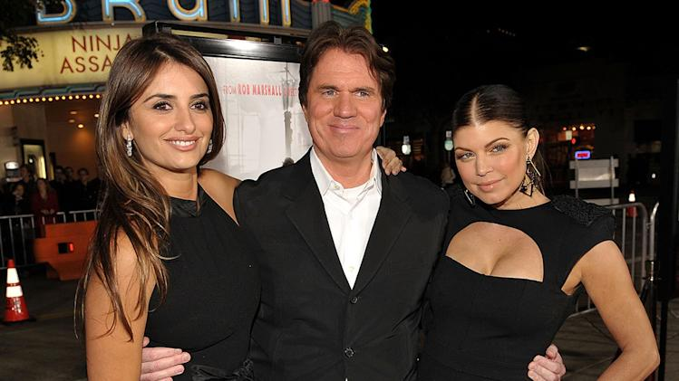 Nine LA Premiere 2009 Penelope Cruz Rob Marshall Stacy Fergueson