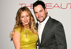 Hilary Duff and Mike Comrie   Photo Credits: Jesse Grant/WireImage.com