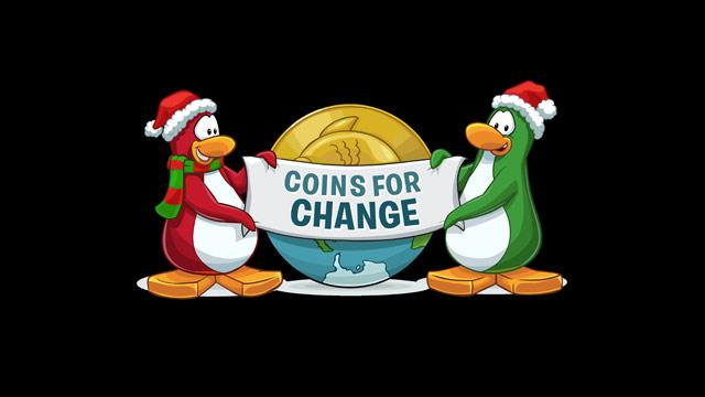 Disney's Club Penguin 'Coins for Change' Program