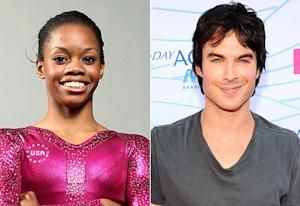 Gabby Douglas Bummed Ian Somerhalder Isn't Single