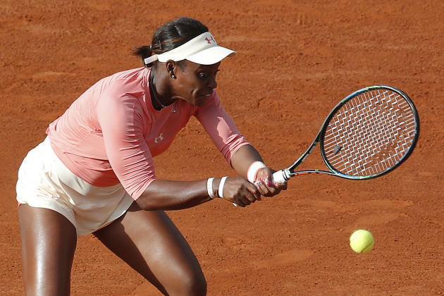 Venus Williams ousted from French Open by Sloane Stephens