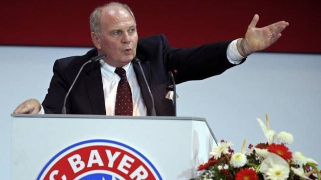 Bundesliga - Bayern president 'arrested last month for tax evasion'