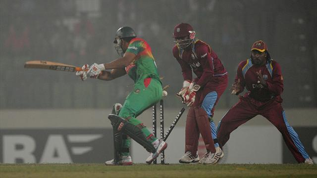 Cricket - Bangladesh claim series decider against West Indies