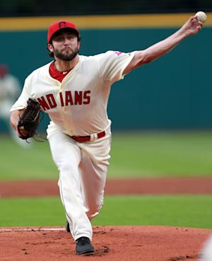 House records 1st major-league win for Indians